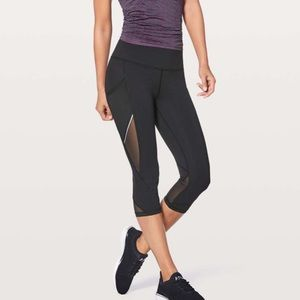 Lulu lemon fast as light crop
